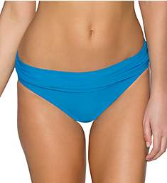 Sunsets French Blue Unforgettable Fold Brief Swim Bottom 27BFB