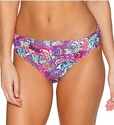 Sunsets Paisley Peacock Fold Brief Swim Bottom 27BPP