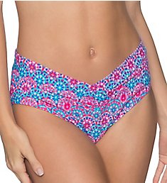 Sunsets Stained Glass V-Front Brief Swim Bottom 31BSG