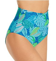 Sunsets Wild Palms Hannah High Waist Swim Bottom 33BWP