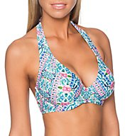 Sunsets Dolce Vita Muse Underwire Halter Swim Top 51DOV