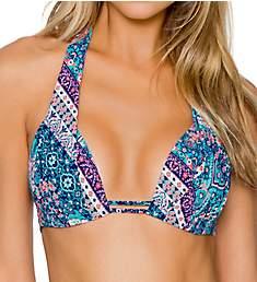 Sunsets Grand Bazaar Marilyn Halter Bikini Swim Top 64TGB