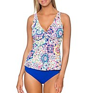 Sunsets Mambo Forever Underwire Twist Tankini Swim Top 77MAM