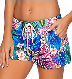 Sunsets Island Safari Bora Board Short Swim Bottom 949IS