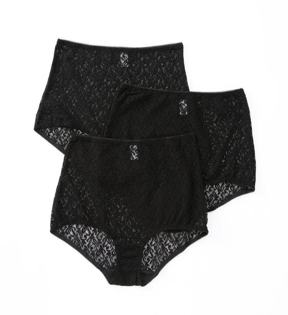 Teri Basic Lace Full Cut Brief Panties - 3 Pack 308