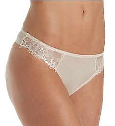 The Little Bra Company Mercedes Eyelash Lace Thong P009TE