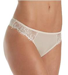 The Little Bra Company Mercedes Petite Eyelash Lace Thong P009TE