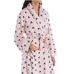 Tommy Hilfiger Printed Plush Varsity Robe R92S077