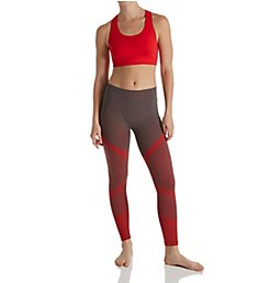 Under Control Color Block Sports Bra and Legging Athleisure Set CF-70011