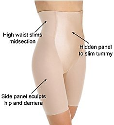 Va Bien Minus Touch Firm Control High Waist Leg Shaper 3757