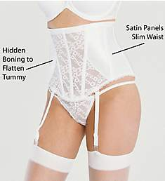 Va Bien Lace Hourglass Waist Cincher with Garters 6101