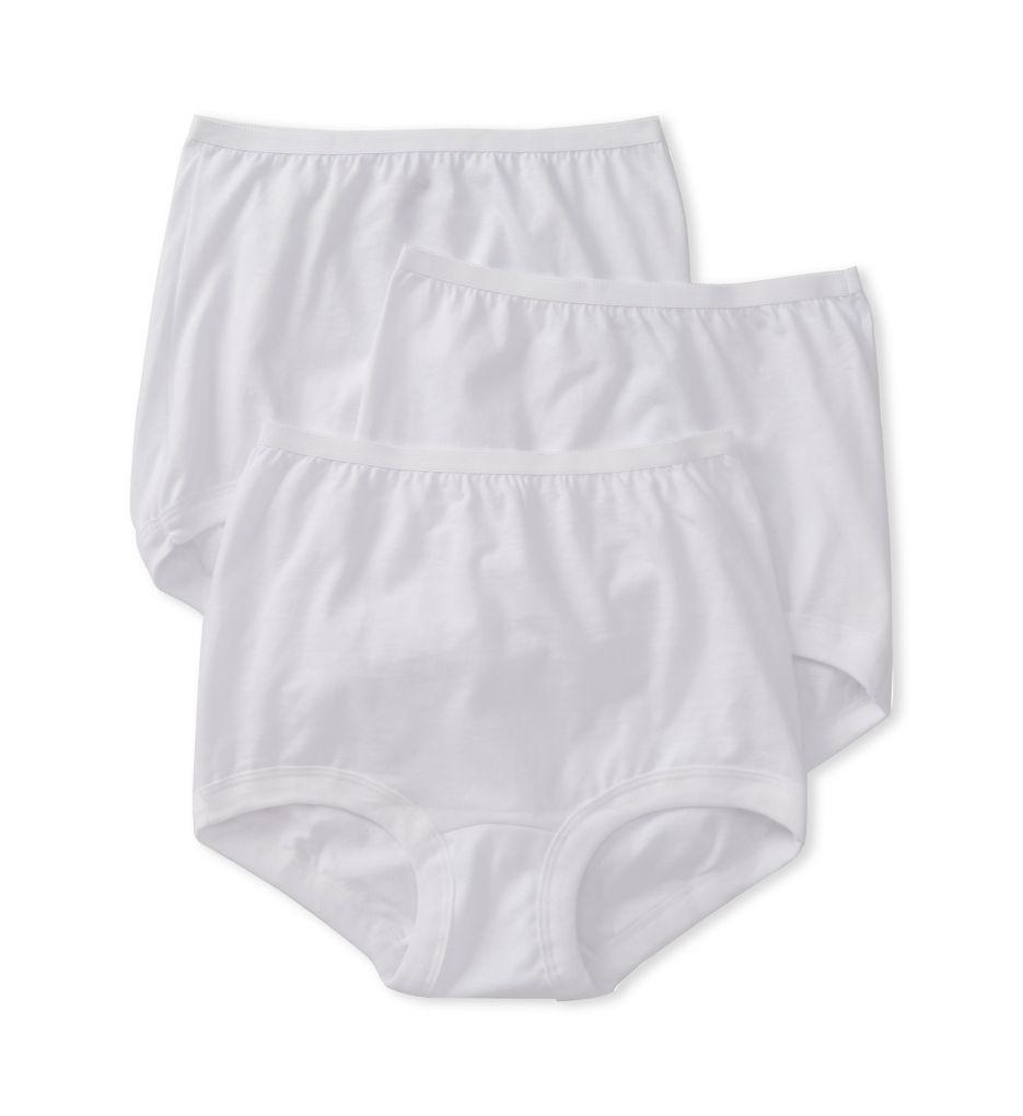 Vanity Fair Lollipop Legband Brief Panties - 3 Pack 15367