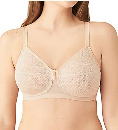 Wacoal Visual Effects Wire Free Minimizing Bra 852210