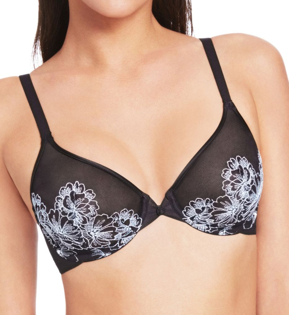 Wacoal Fragile Drama Mesh Underwire Bra with Embroidery 855250