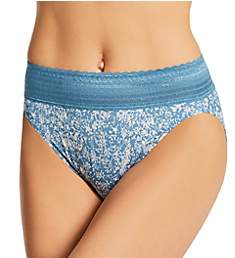 Warner's No Pinching No Problems Hi-Cut Brief With Lace 5109J