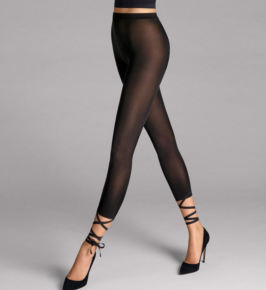 Wolford Lace Up Capri 14586