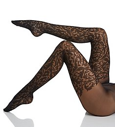 Wolford Daphne Floral Pattern Tights 14709