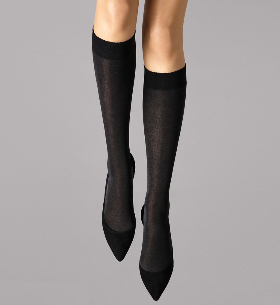 Wolford Velvet De Luxe 50 Knee Highs 30923
