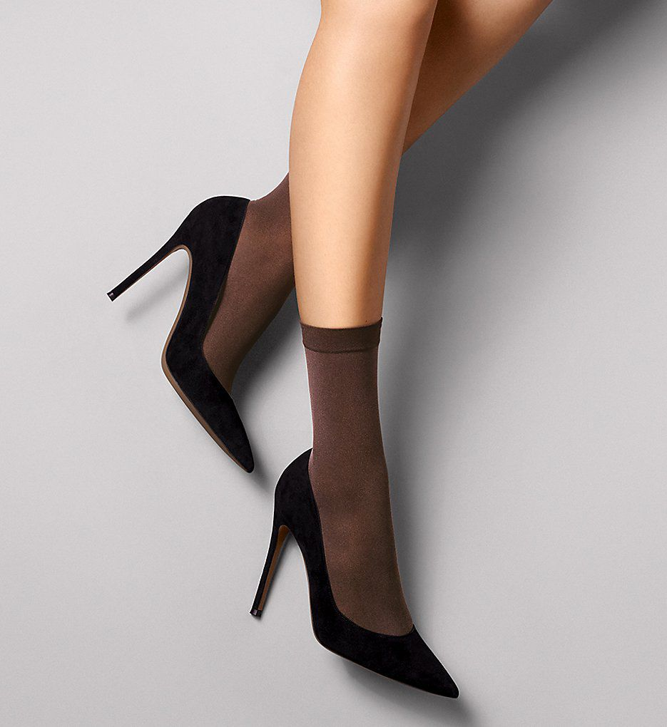 Wolford Satin Opaque Nature Socks 41279