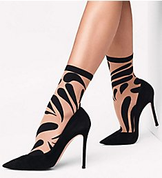 Wolford Droplet Graphic Socks 41288
