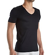 Zimmerli Sea Island Luxury Cotton V Neck T-Shirt 2861442